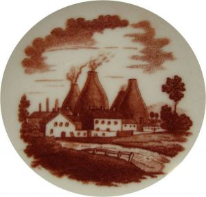 early Spode facctory