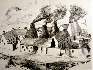 Brick works drawing ca 1800